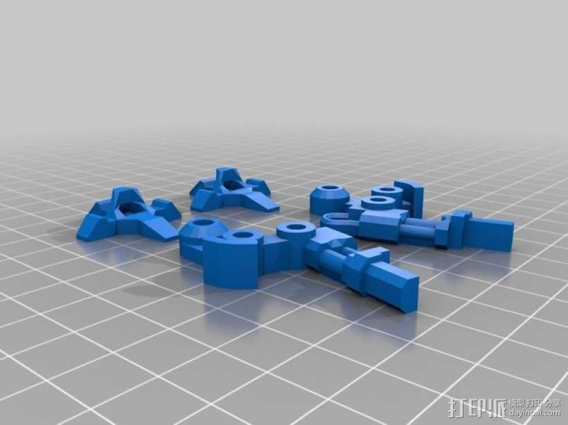 步行器 3D模型  图11