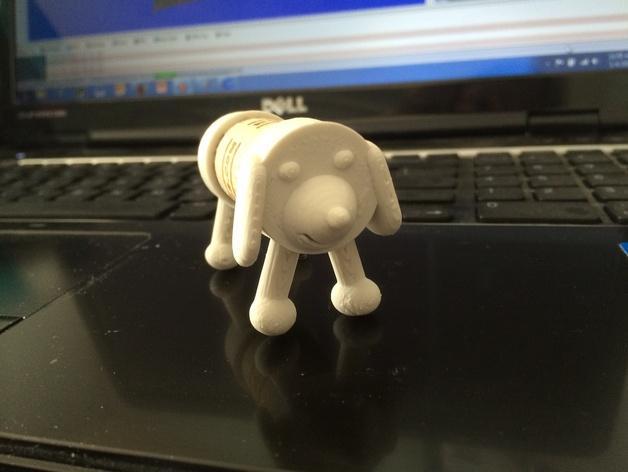 软木小狗 3D模型  图2