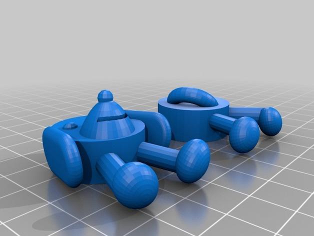 软木小狗 3D模型  图5