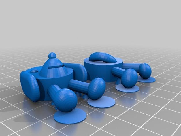 软木小狗 3D模型  图4