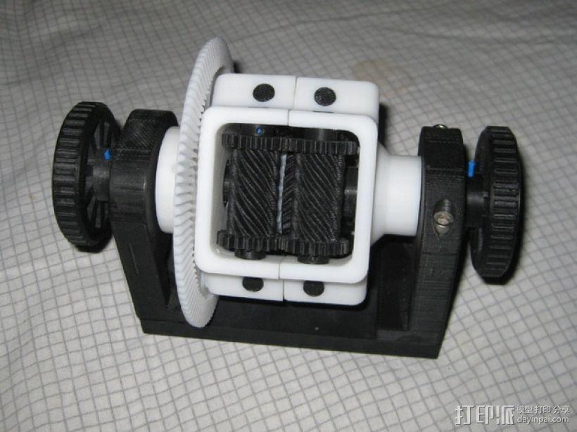 防滑差速器 3D模型  图3