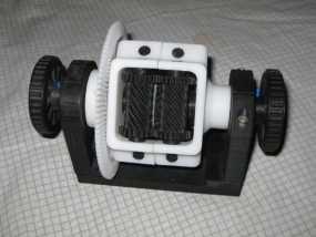 防滑差速器 3D模型