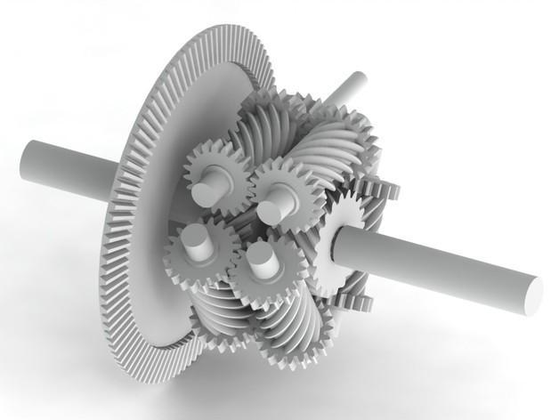 防滑差速器 3D模型  图5