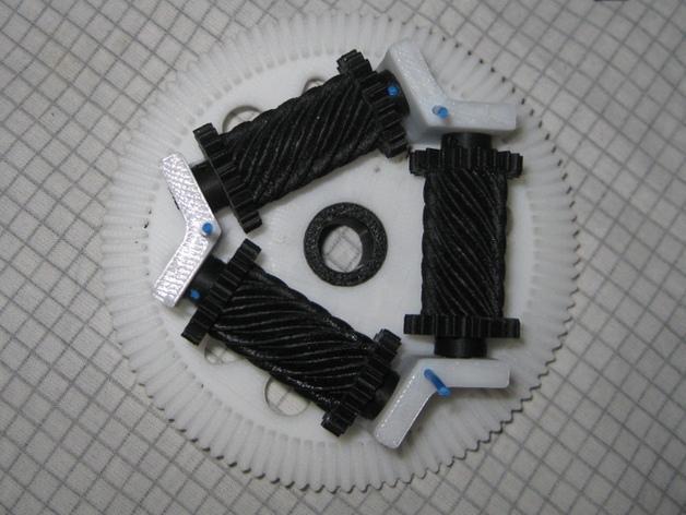 防滑差速器 3D模型  图4
