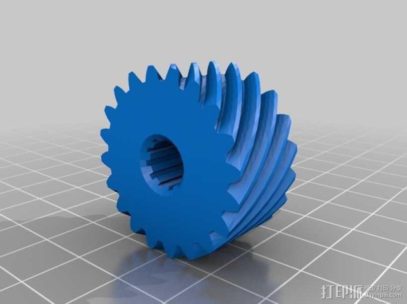 防滑差速器 3D模型  图9