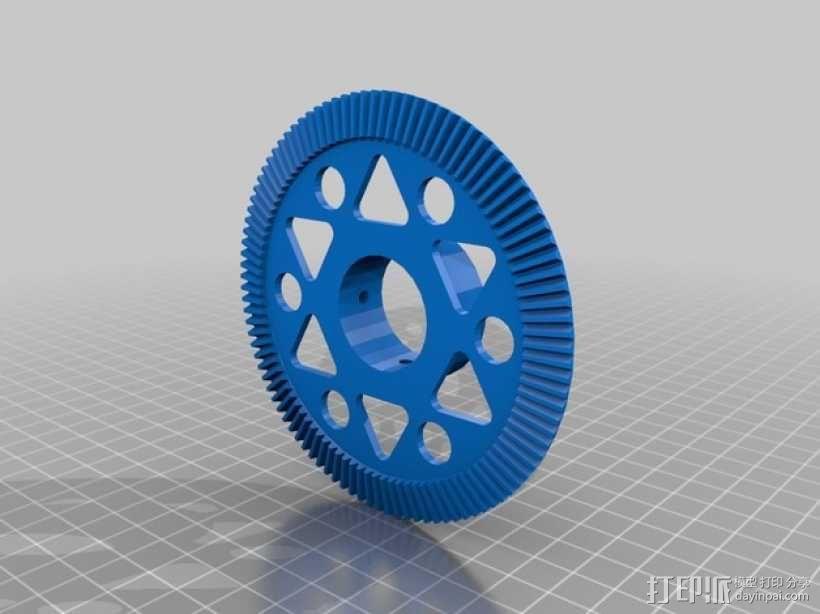 防滑差速器 3D模型  图10