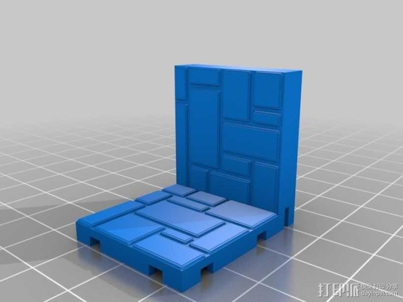 可定制的地牢地形图 3D模型  图6