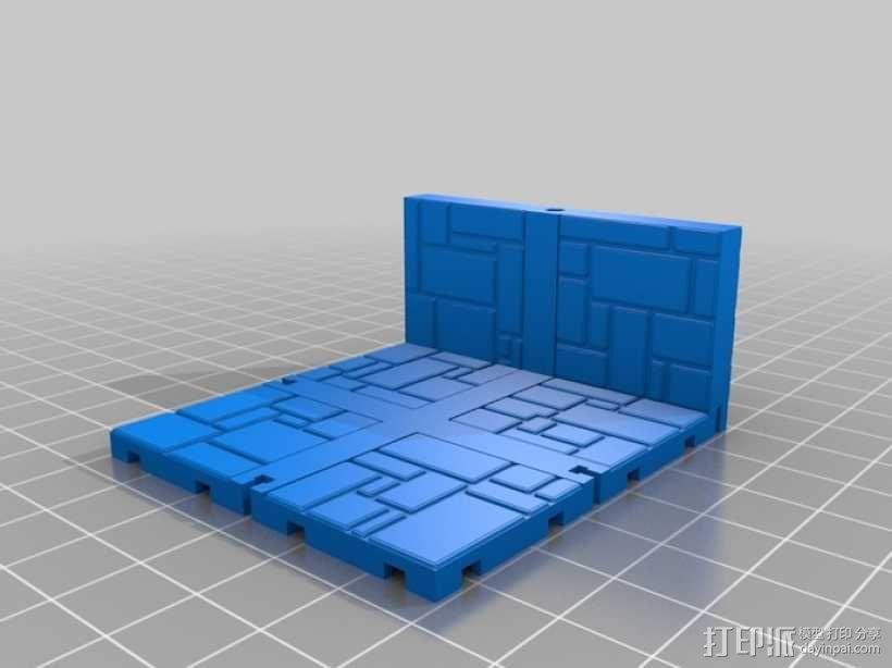 可定制的地牢地形图 3D模型  图8