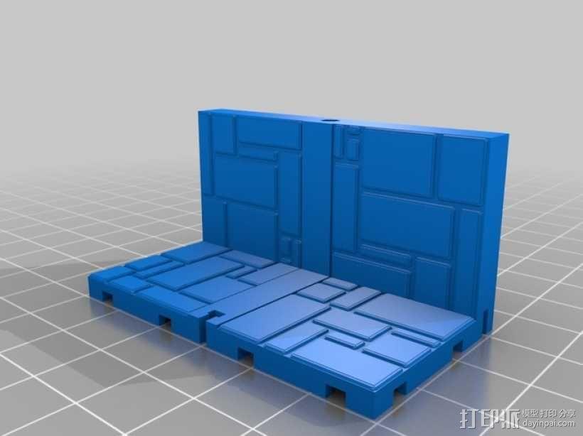可定制的地牢地形图 3D模型  图7