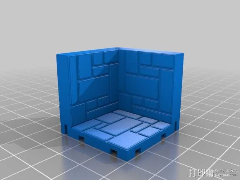 可定制的地牢地形图 3D模型  图9