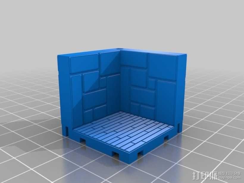 可定制的地牢地形图 3D模型  图10