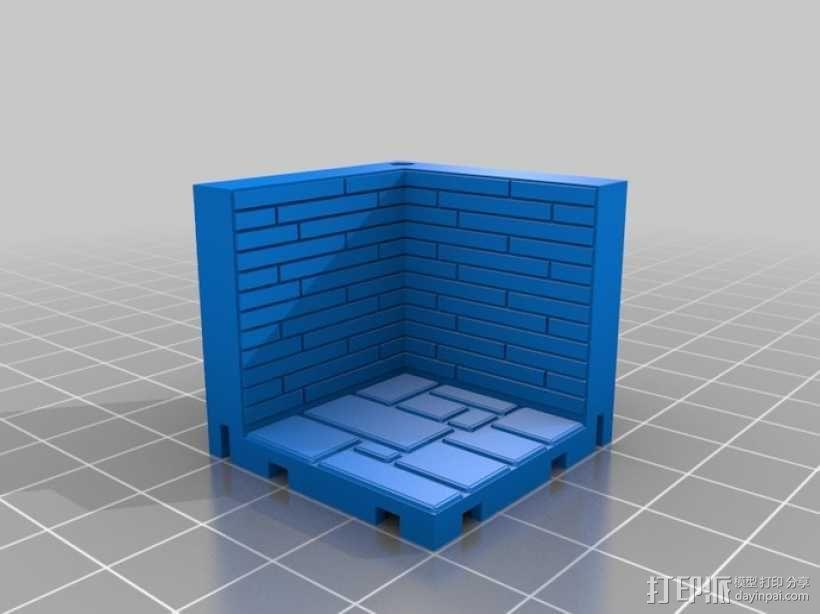 可定制的地牢地形图 3D模型  图11
