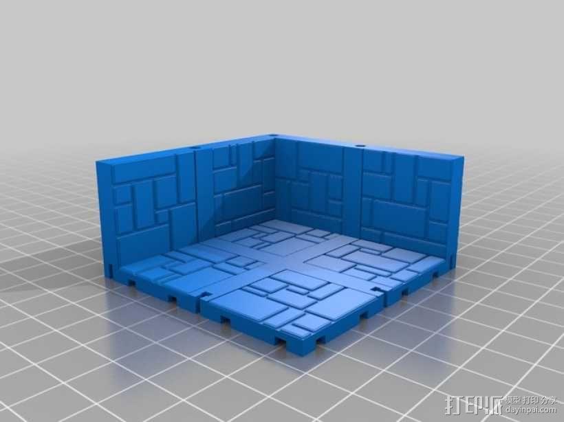 可定制的地牢地形图 3D模型  图12