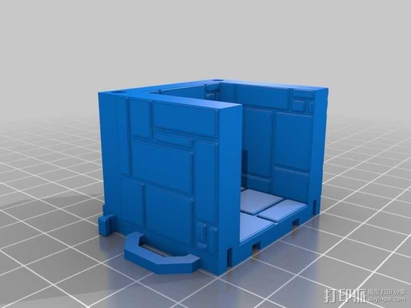 可定制的地牢地形图 3D模型  图14