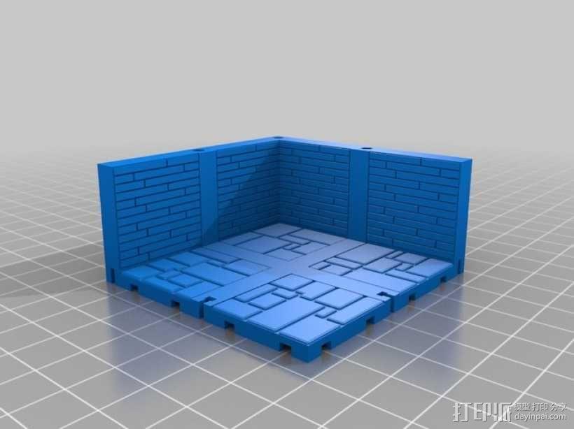 可定制的地牢地形图 3D模型  图13