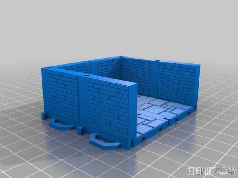 可定制的地牢地形图 3D模型  图16
