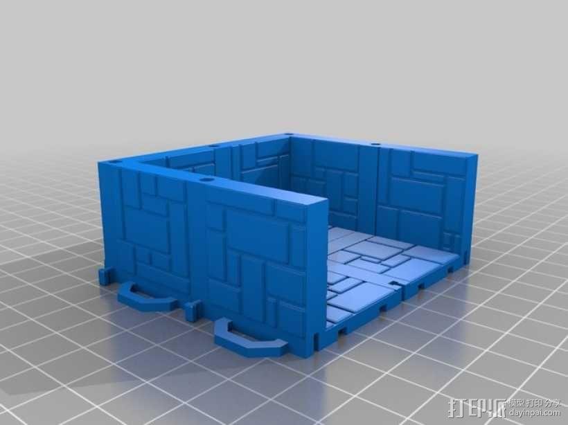 可定制的地牢地形图 3D模型  图15