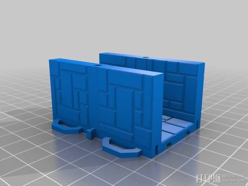 可定制的地牢地形图 3D模型  图18