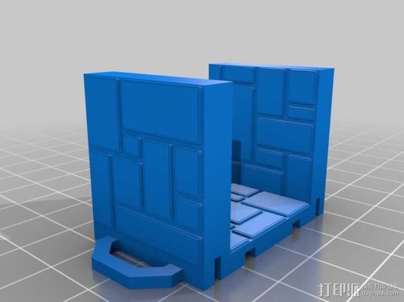 可定制的地牢地形图 3D模型  图17