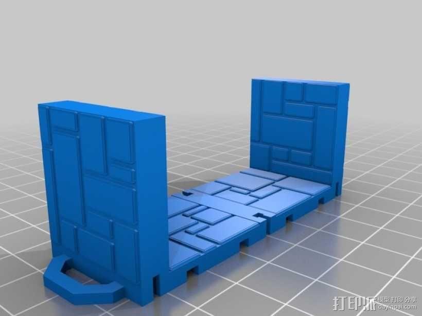可定制的地牢地形图 3D模型  图19