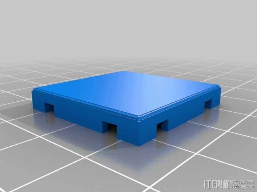 可定制的地牢地形图 3D模型  图21
