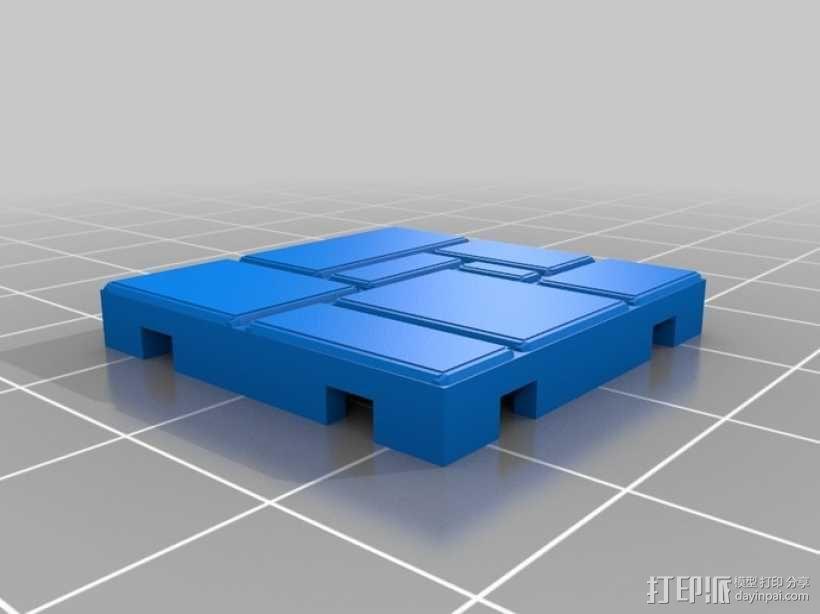 可定制的地牢地形图 3D模型  图24