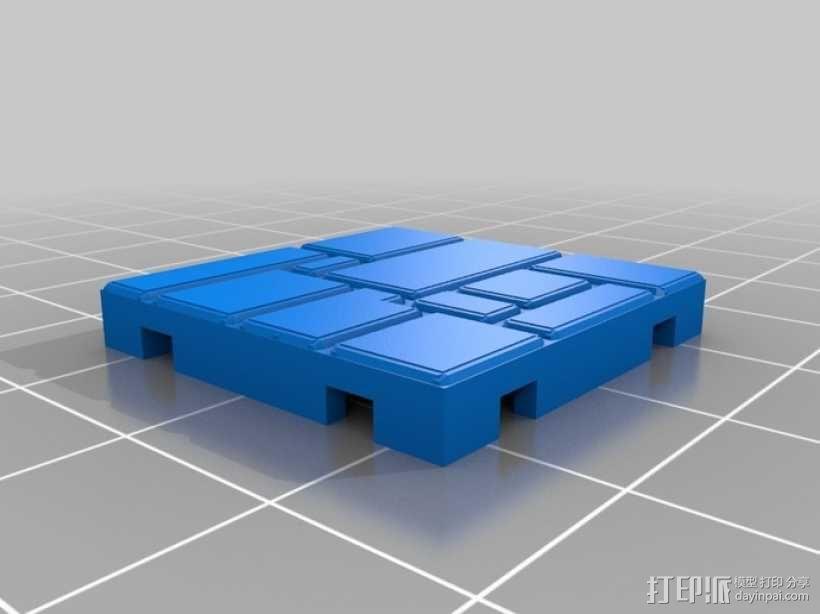 可定制的地牢地形图 3D模型  图27