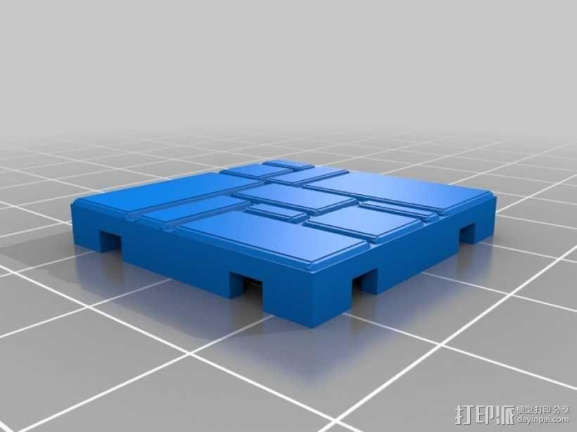 可定制的地牢地形图 3D模型  图26