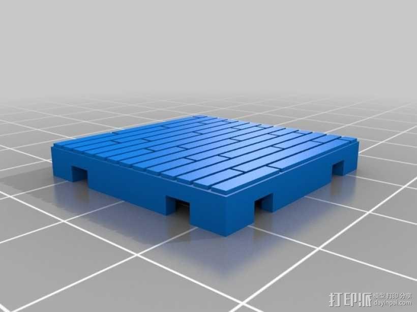 可定制的地牢地形图 3D模型  图30