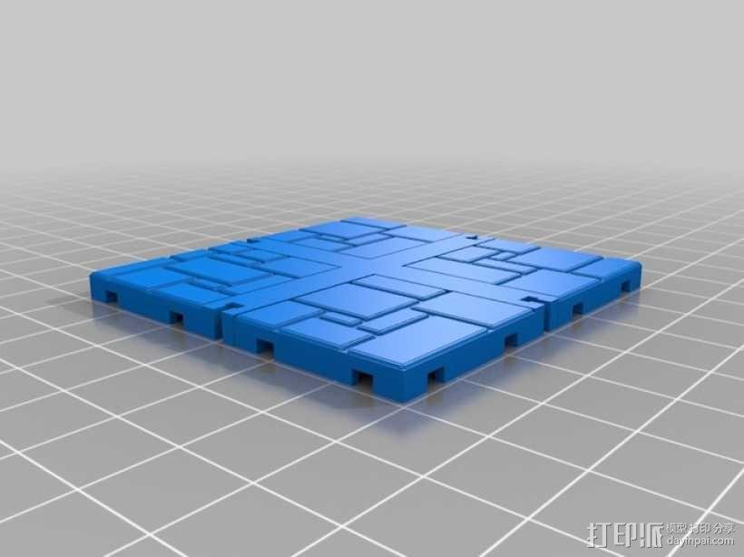 可定制的地牢地形图 3D模型  图29