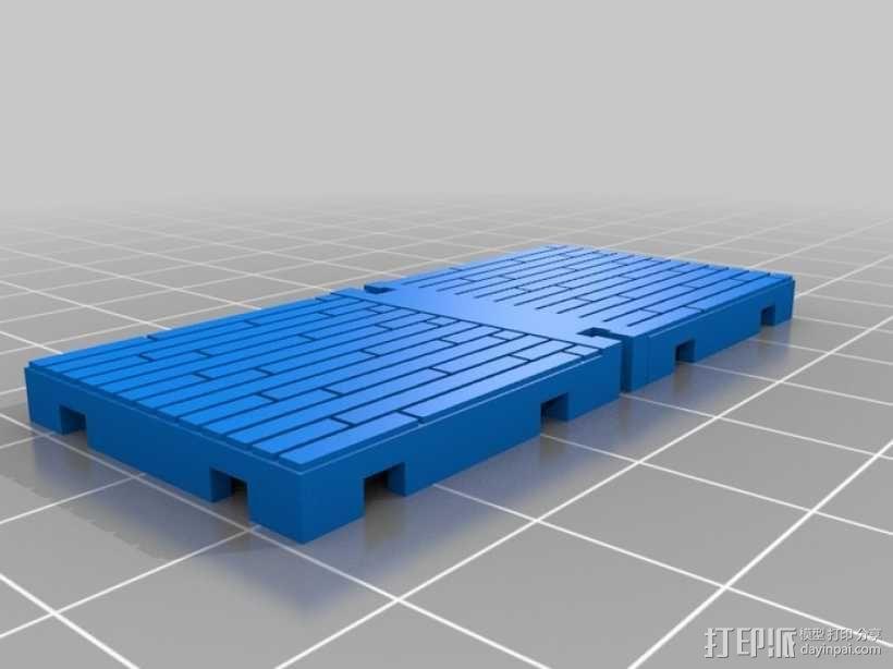 可定制的地牢地形图 3D模型  图32