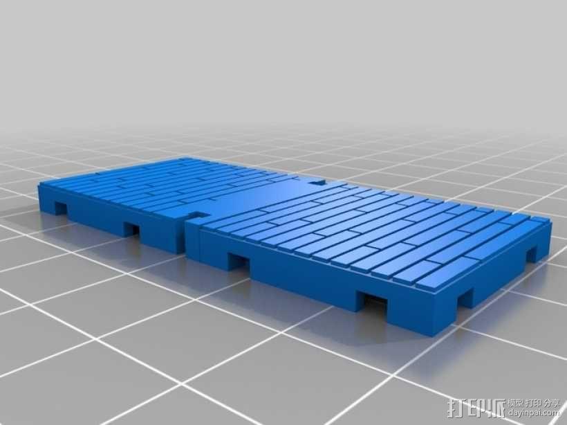 可定制的地牢地形图 3D模型  图31
