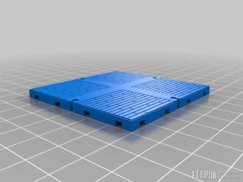 可定制的地牢地形图 3D模型  图33