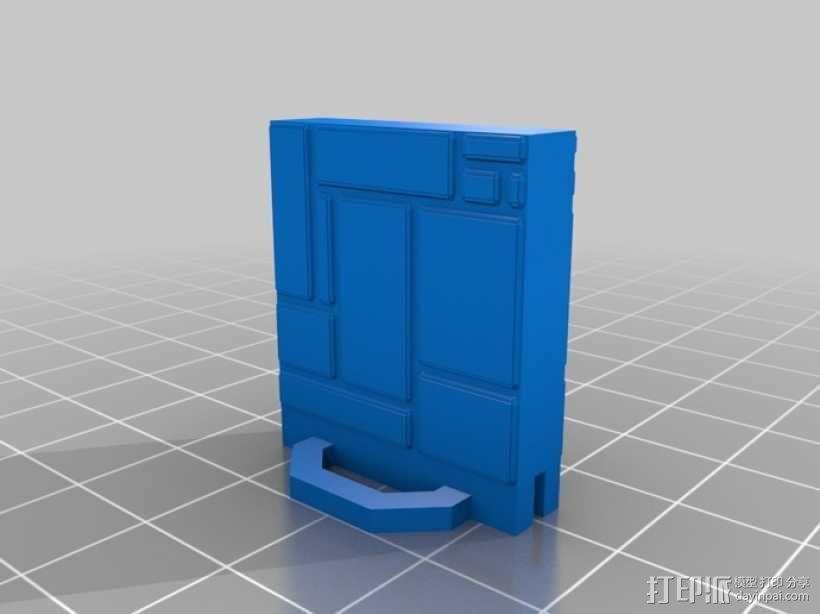 可定制的地牢地形图 3D模型  图40
