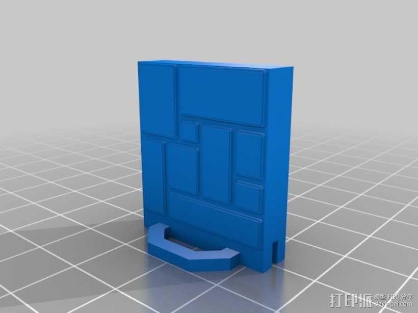 可定制的地牢地形图 3D模型  图45