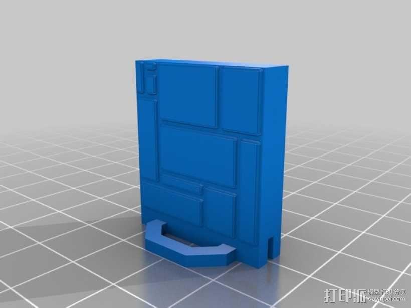 可定制的地牢地形图 3D模型  图44