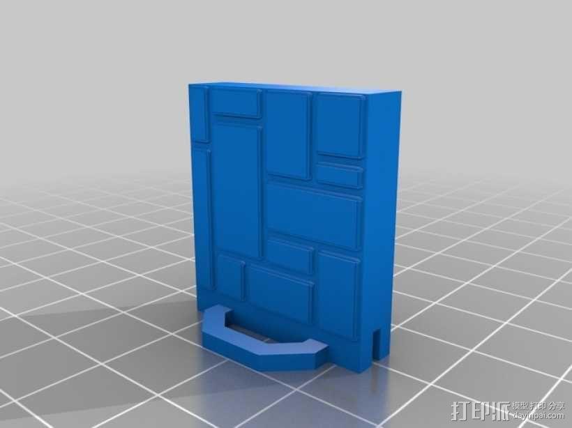 可定制的地牢地形图 3D模型  图46