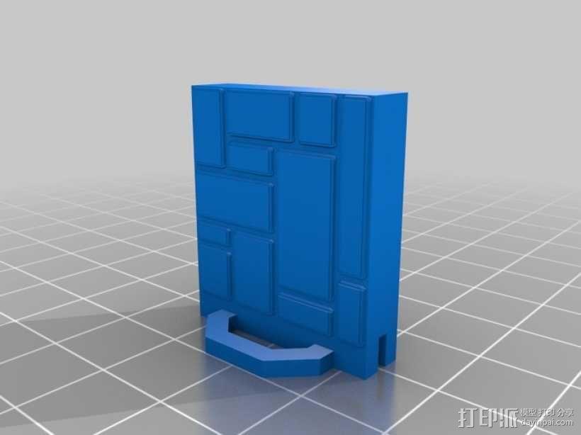 可定制的地牢地形图 3D模型  图49