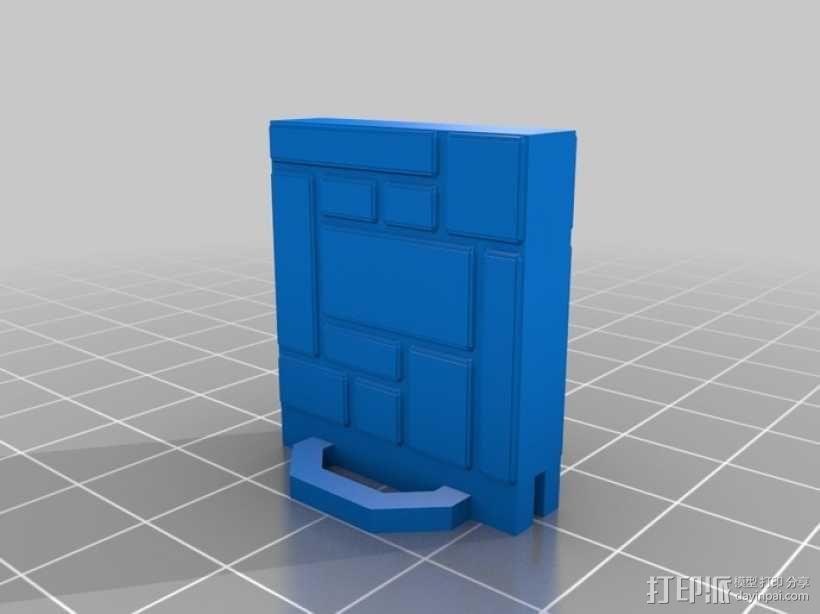 可定制的地牢地形图 3D模型  图50