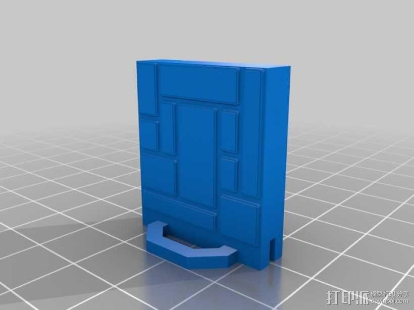 可定制的地牢地形图 3D模型  图52