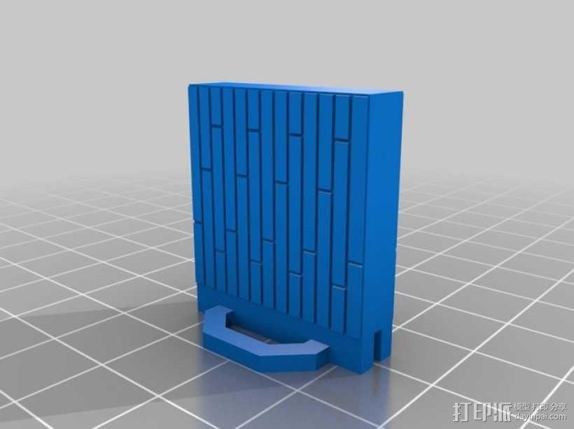可定制的地牢地形图 3D模型  图54