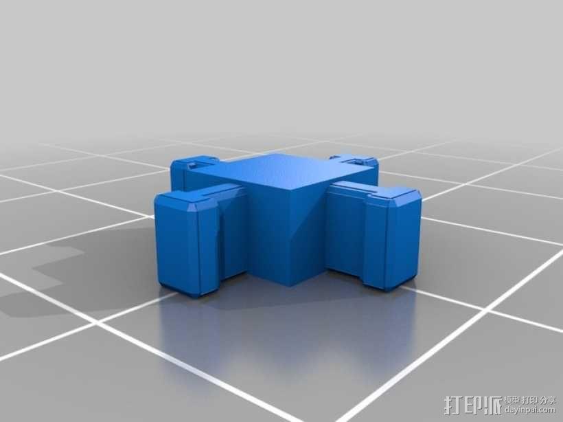 可定制的地牢地形图 3D模型  图59