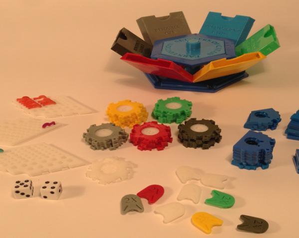 六边形储物箱 3D模型  图4