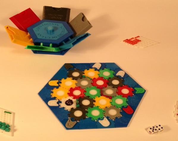六边形储物箱 3D模型  图5