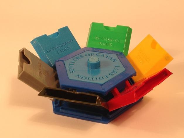 六边形储物箱 3D模型  图3