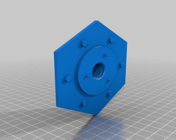 六边形储物箱 3D模型  图8