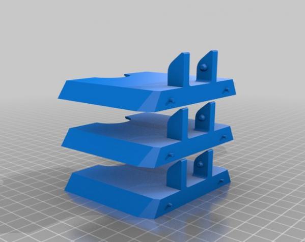 六边形储物箱 3D模型  图10