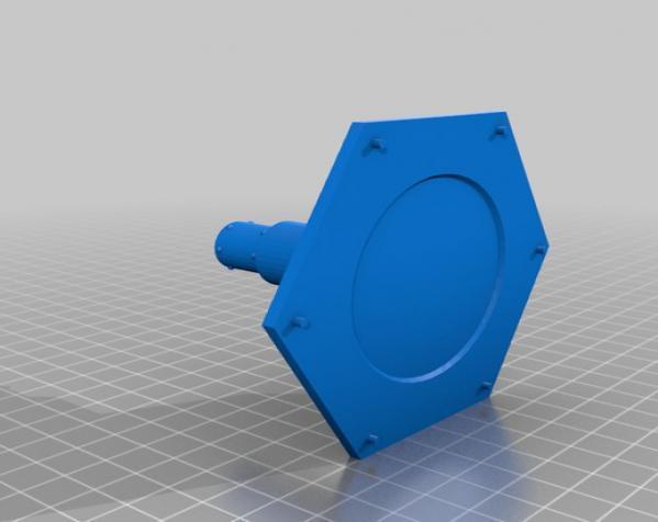 六边形储物箱 3D模型  图9