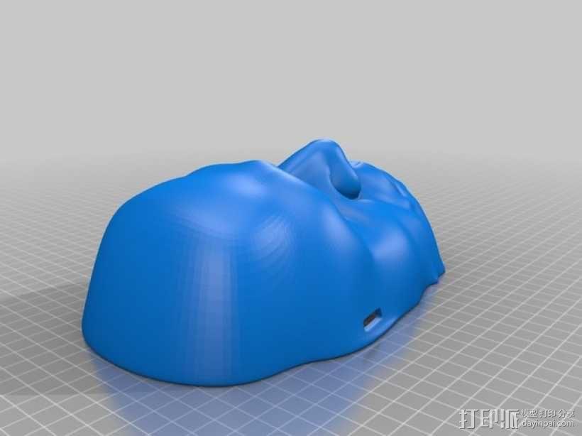 面具 3D模型  图2