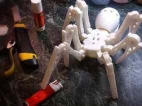 蜘蛛玩具 3D模型